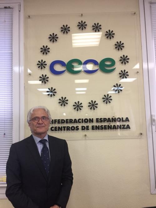 Ventura Blach nombrado vicepresidente de la Confederación Española de Centros de Enseñanza (CECE) y miembro del Comité Ejecutivo nacional
