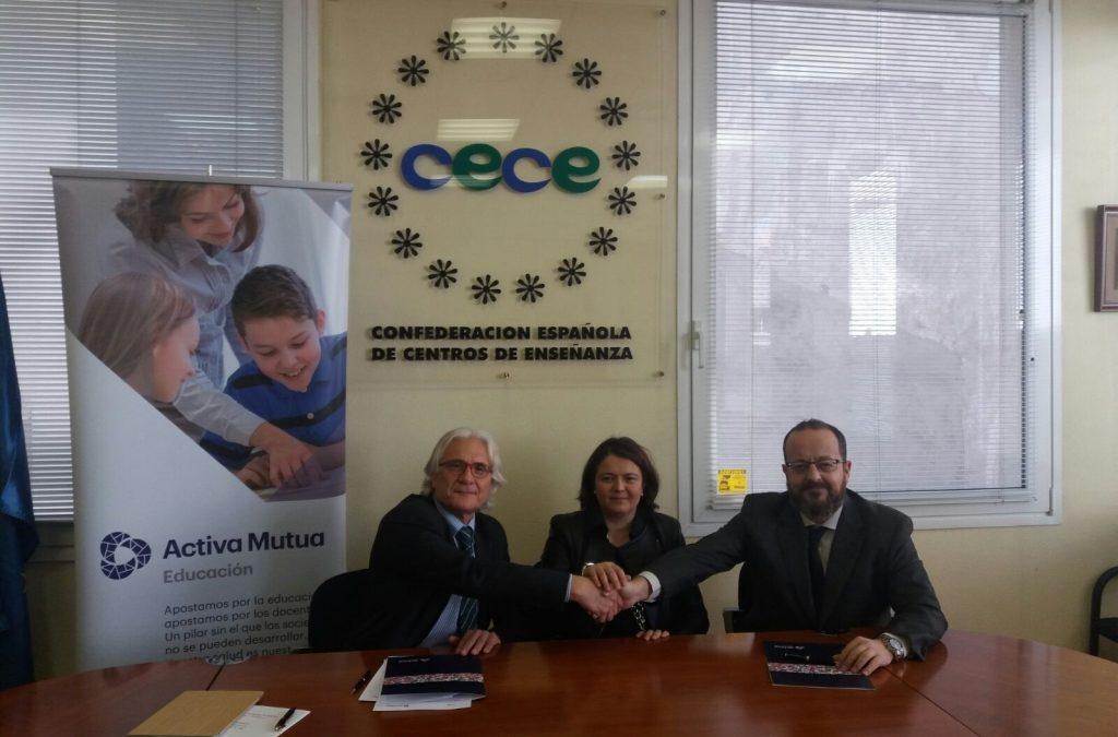 Acuerdo de colaboración entre ACENEB-CECEIB y Mutua Activa