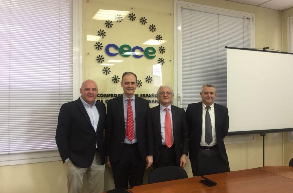 Junta General de CECE a Madrid