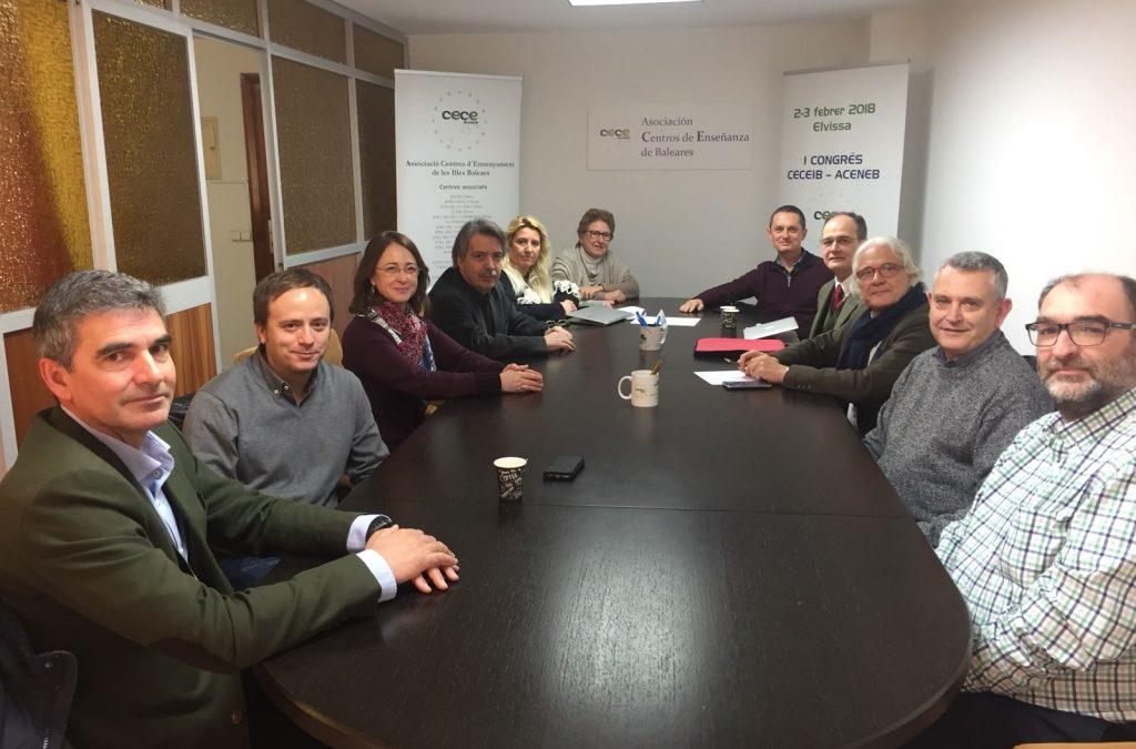 Reunión CECEIB-ACENEB con Ciudadanos