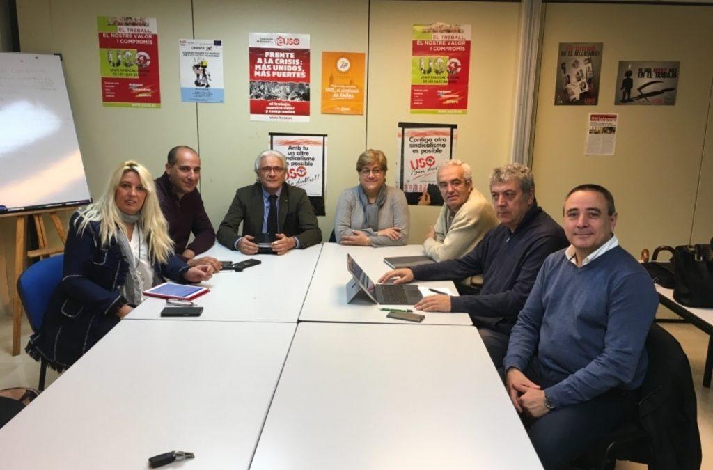 Reunió de la Plataforma per a l'educació concertada