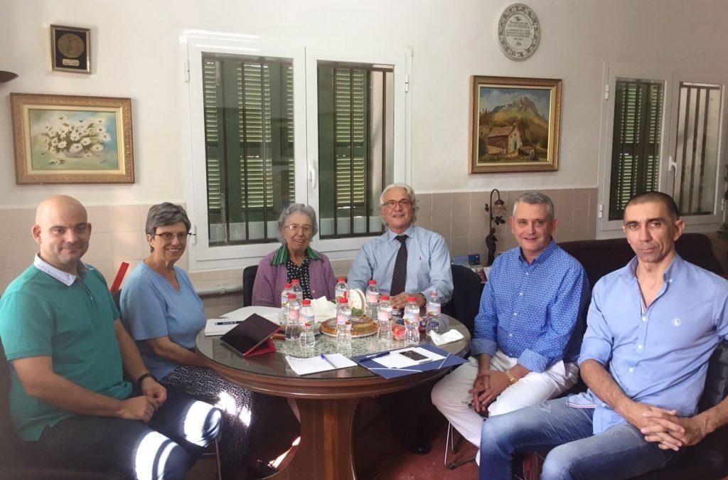 Visita a los centros de Ibiza, miembros de la CECEIB-ACENEB.