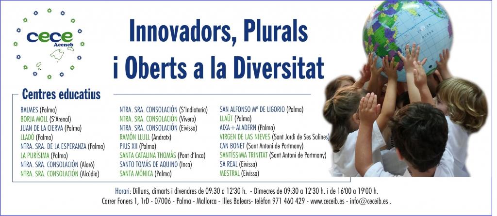 Innovadors, plurals i oberts a la diversitat