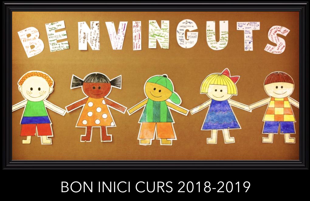 Bon inici de curs 2018-2019
