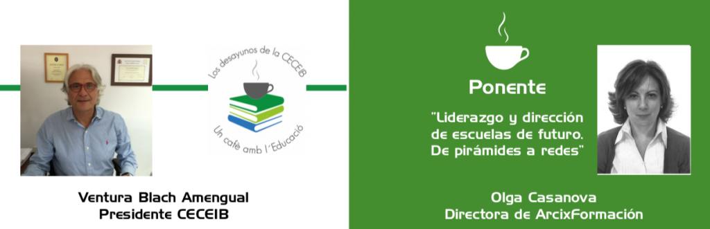 VII edición Desayunos de la CECEIB: Un cafè amb l ́Educació