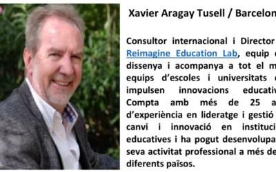 IX Desayunos de la CECEIB: Un cafè amb l'Educació: Col·loqui a càrrec de D. Xavier Aragay Tusell, Consultor internacional i Director de Reimagine Education Lab. El proper 9 de maig a les 9.30h, a la seu de CaixaFòrum Palma
