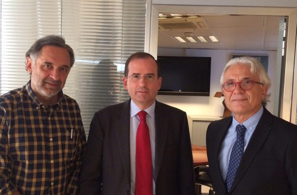 12-12-2015. Entrevista del presidente de la CECE, Alfonso Aguiló, en la Ultima Hora