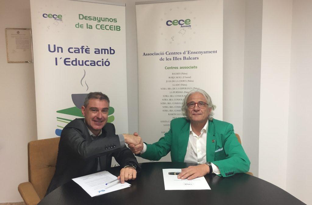 Acuerdo de colaboración entre ACENEB-CECEIB y ASH-Assessoria Soft & Hard