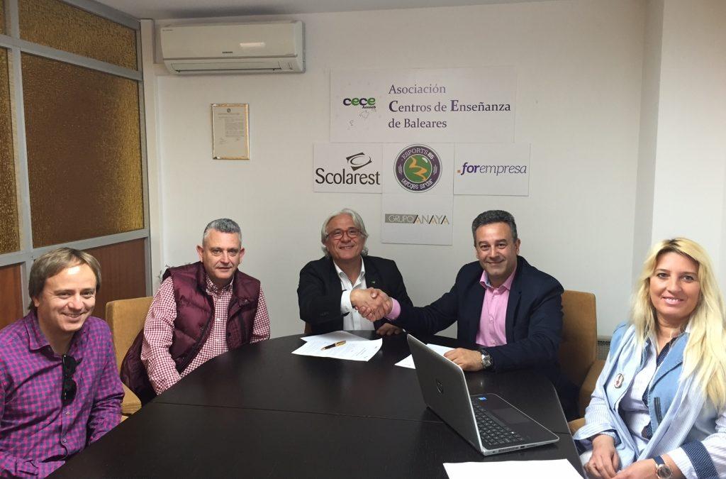 Acuerdo de colaboración entre ACENEB-CECEIB y SANTILLANA.