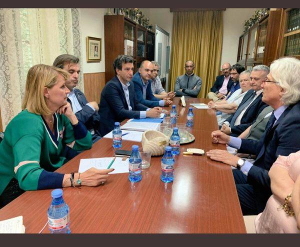 El dia 19 de maig es va reunir CECEIB amb els centres d'Eivissa i els candidats del Partit Popular.