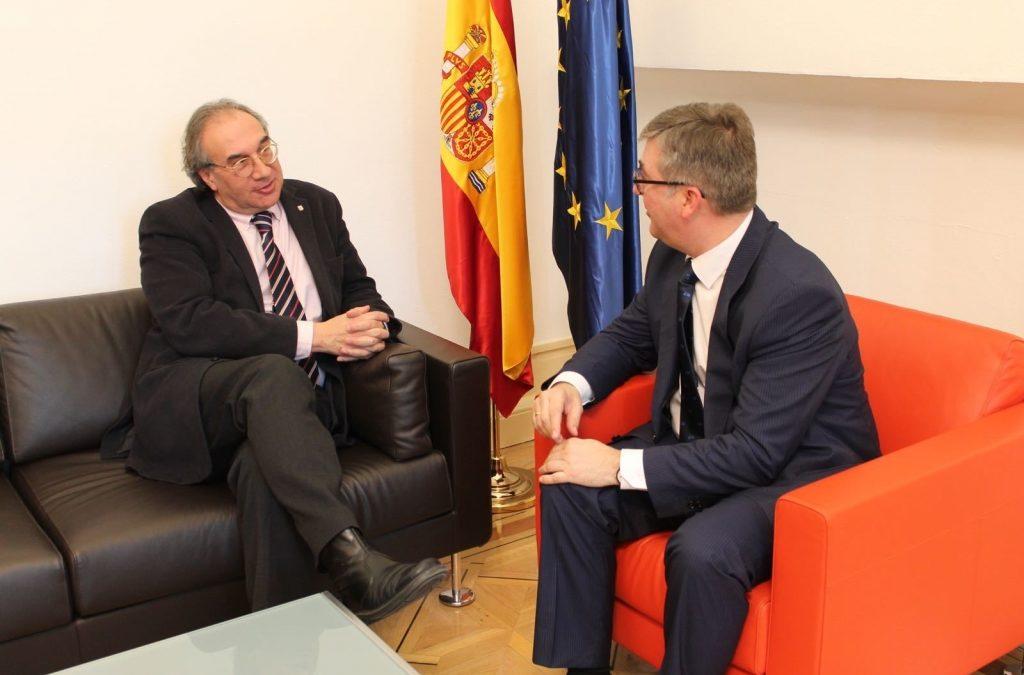 """Marcial Marín: """"Si deroguen la LOMQE, es poden carregar el sistema educatiu espanyol"""""""