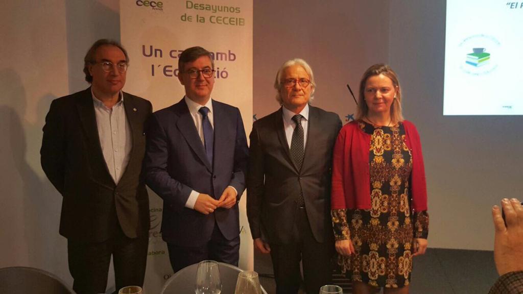 El secretario de Estado afirma en Palma que es posible un pacto por la Educación