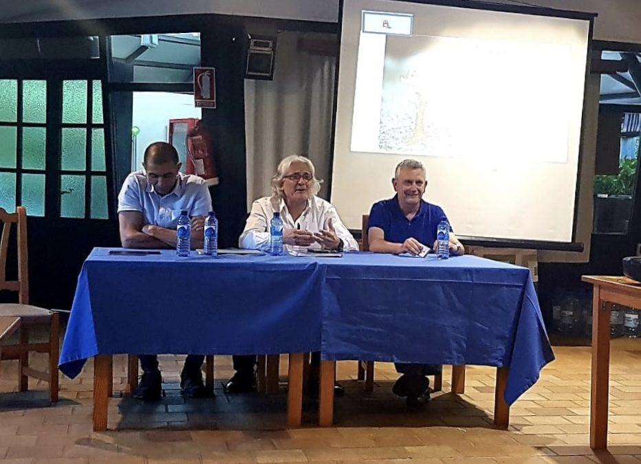 Celebració Junta General CECEIB al poliesportiu Santa Mònica 6 Juliol 2018