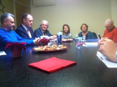 Reunió amb la Cap de Departament de la Conselleria per parlar sobre les Titulacions