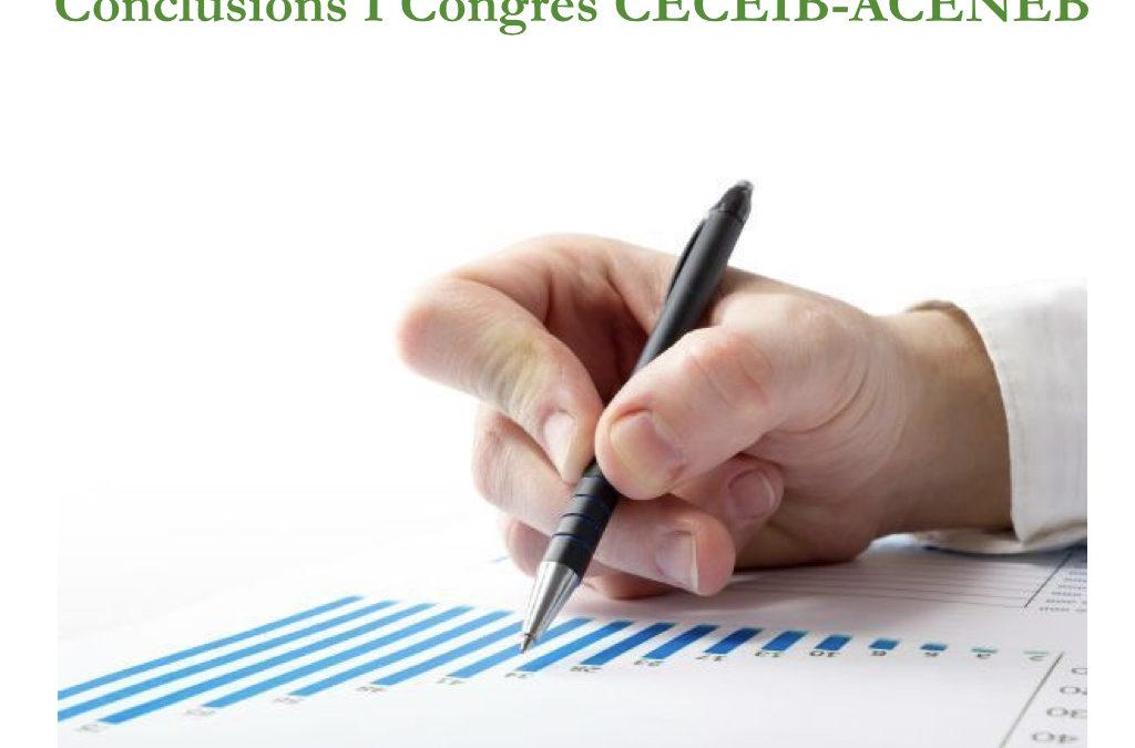 Conclusions I Congrés CECEIB celebrat a Eivissa