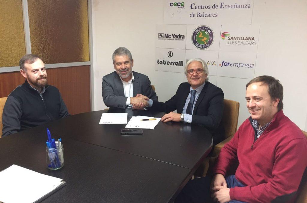 Acuerdo de colaboración entre ACENEB-CECEIB yMcyadra