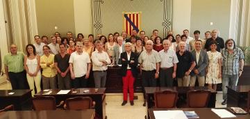 El Consell Escolar de les Illes Balears recupera la seva composició inicial. A l'acte hi va assitir el president de la CECEIB, Sr. Ventura Blach