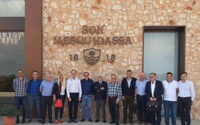 Visita de la junta directiva CECEIB a las instalaciones de Son Mesquidassa