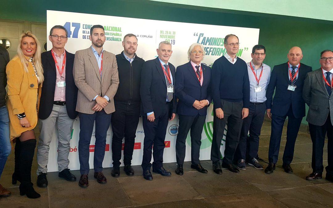 En el #47CongresoCECE en A Coruña, la CECEIB ha presentado el vídeo promocional del próximo Congreso Nacional que se celebrará en Ibiza