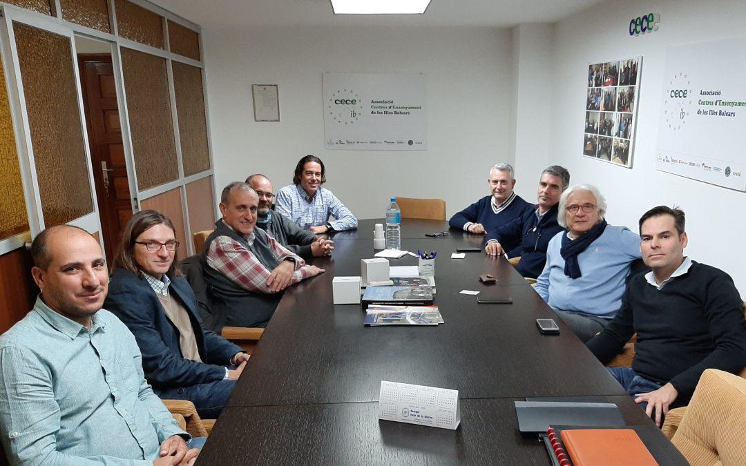 Reunión entre CECEIB y USO