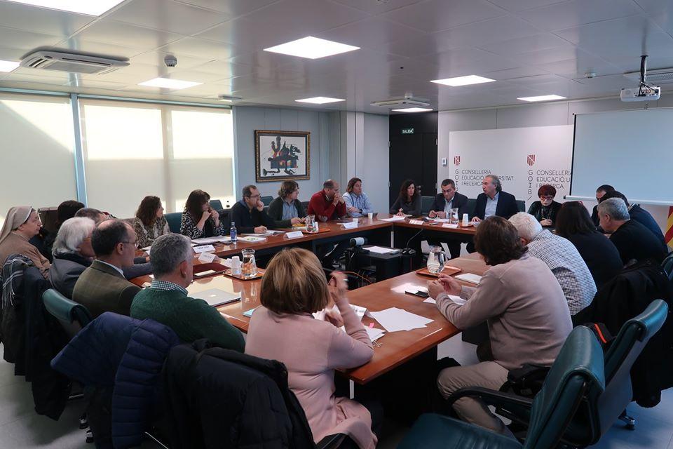 La  CECEIB ha assistit a la presentació de l'Avantprojecte de la Llei d'Educació.