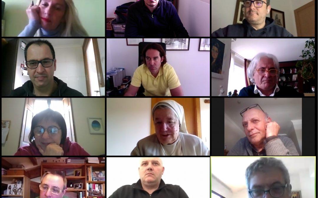 Videoconferencia de los miembros de Schola Libera para valorar la situación actual en los centros concertados de las Islas Baleares.