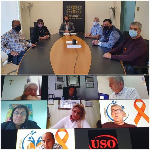 SCHOLA LIBERA ha iniciat la ronda de reunions amb els grups parlamentaris, avui amb VOX i PSOE.