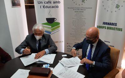 Firma del Convenio entre la CECEIB y el Banco de Sabadell