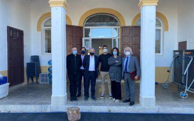 Continua la vista de los centros de Ibiza por parte de la directiva de la CECEIB
