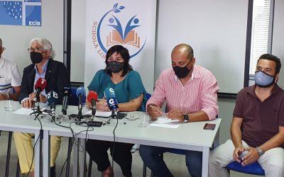 Rueda de prensa de SCHOLA LIBERA. Denuncia la negativa de la Conselleria d'Educació a negociar con la concertada