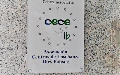 Ahora todos nuestros centros tienen una placa distintiva de la CECEIB